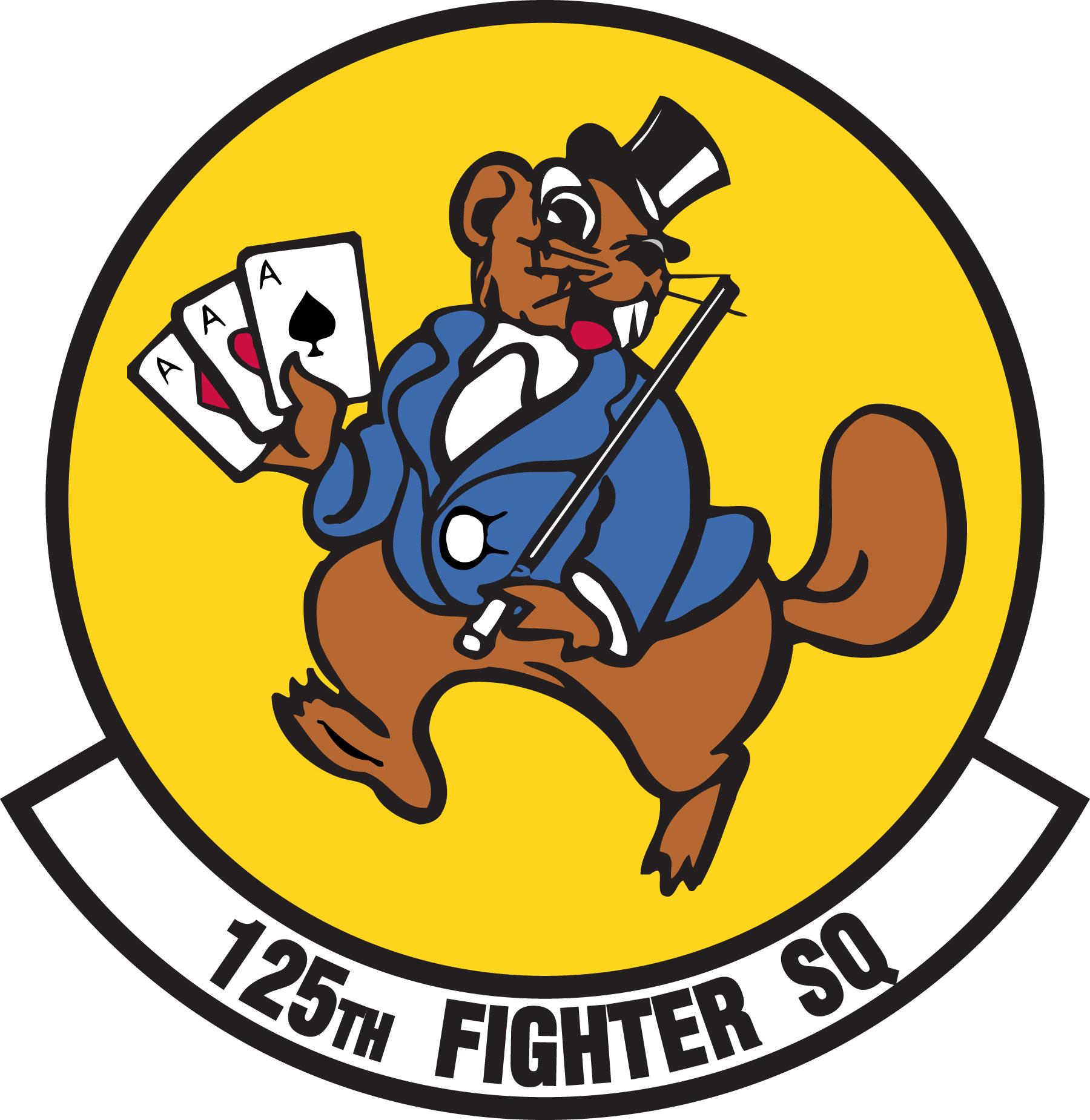 Fighter Squadron Logos File:125th Fighter Squadron