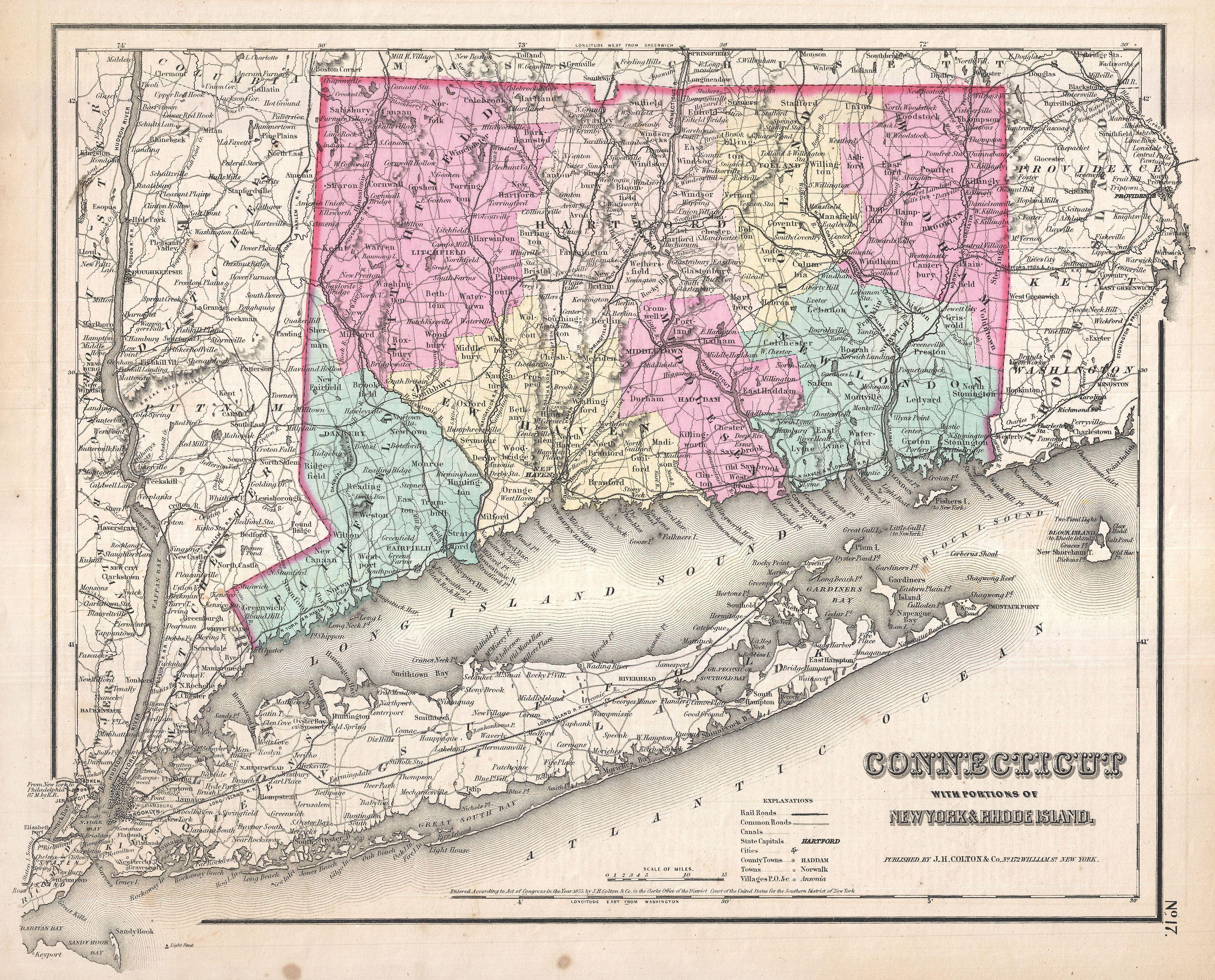 Block Island Long Island Map