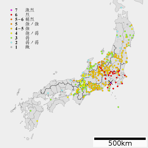 1923 Kanto earthquake intensity-2