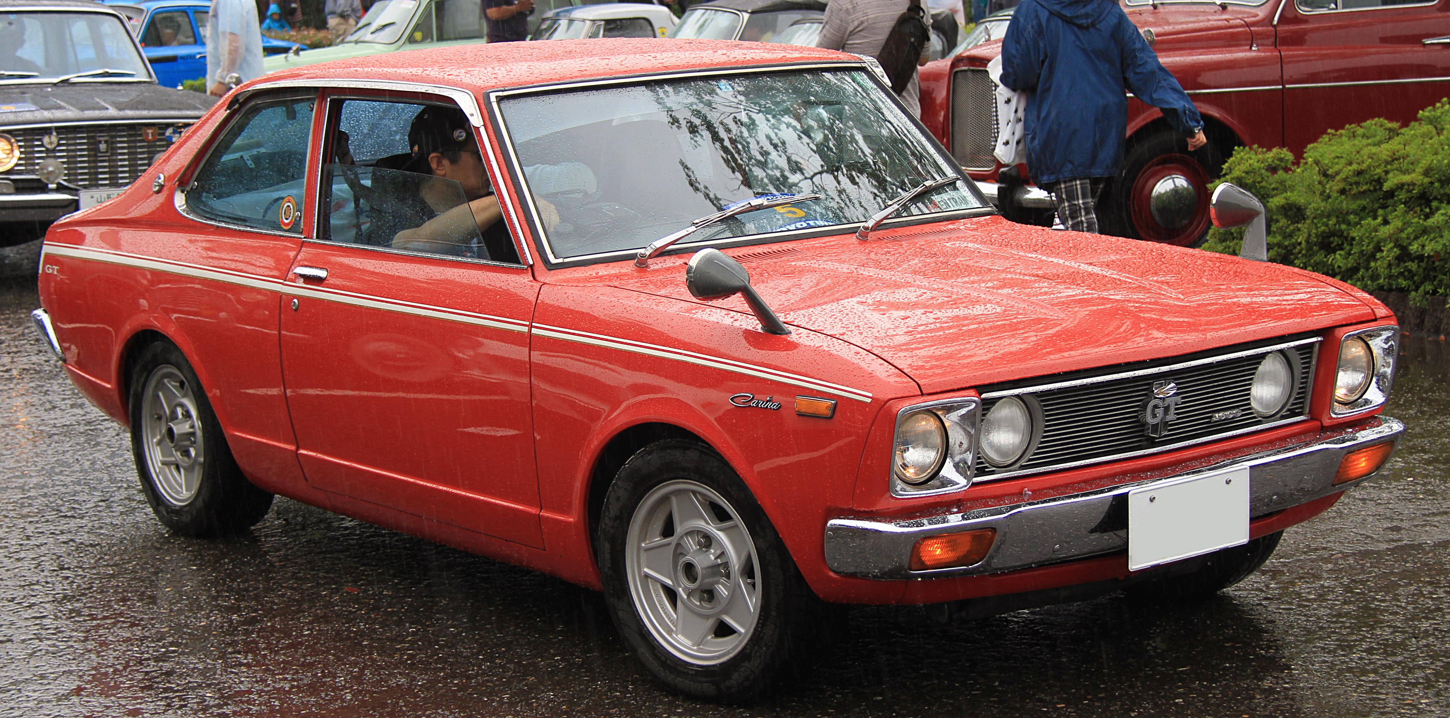 File:1972_Toyota_Carina_1600GTon 1980 Toyota Corolla