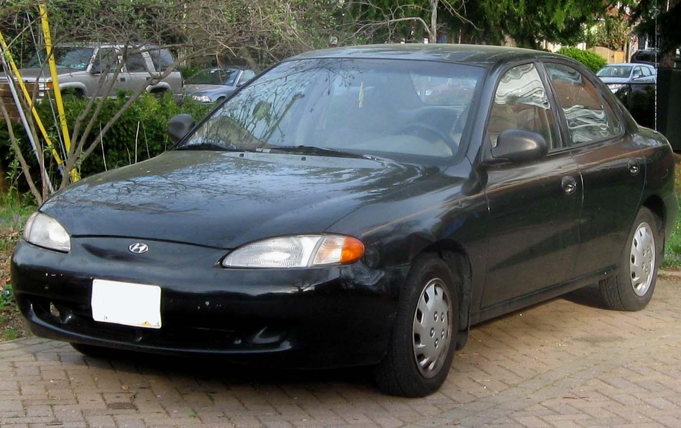 1997 hyundai: