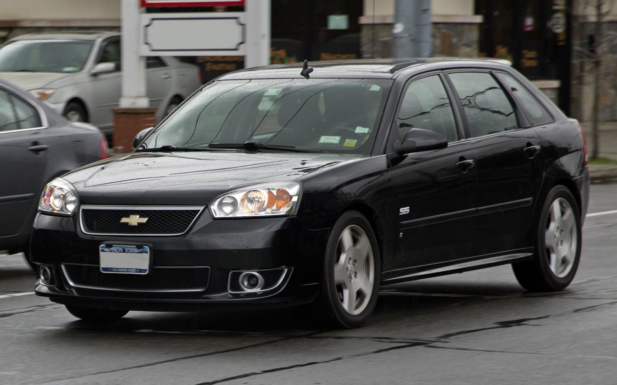 File 2006 Chevrolet Malibu Maxx Ss In Black  Front Left