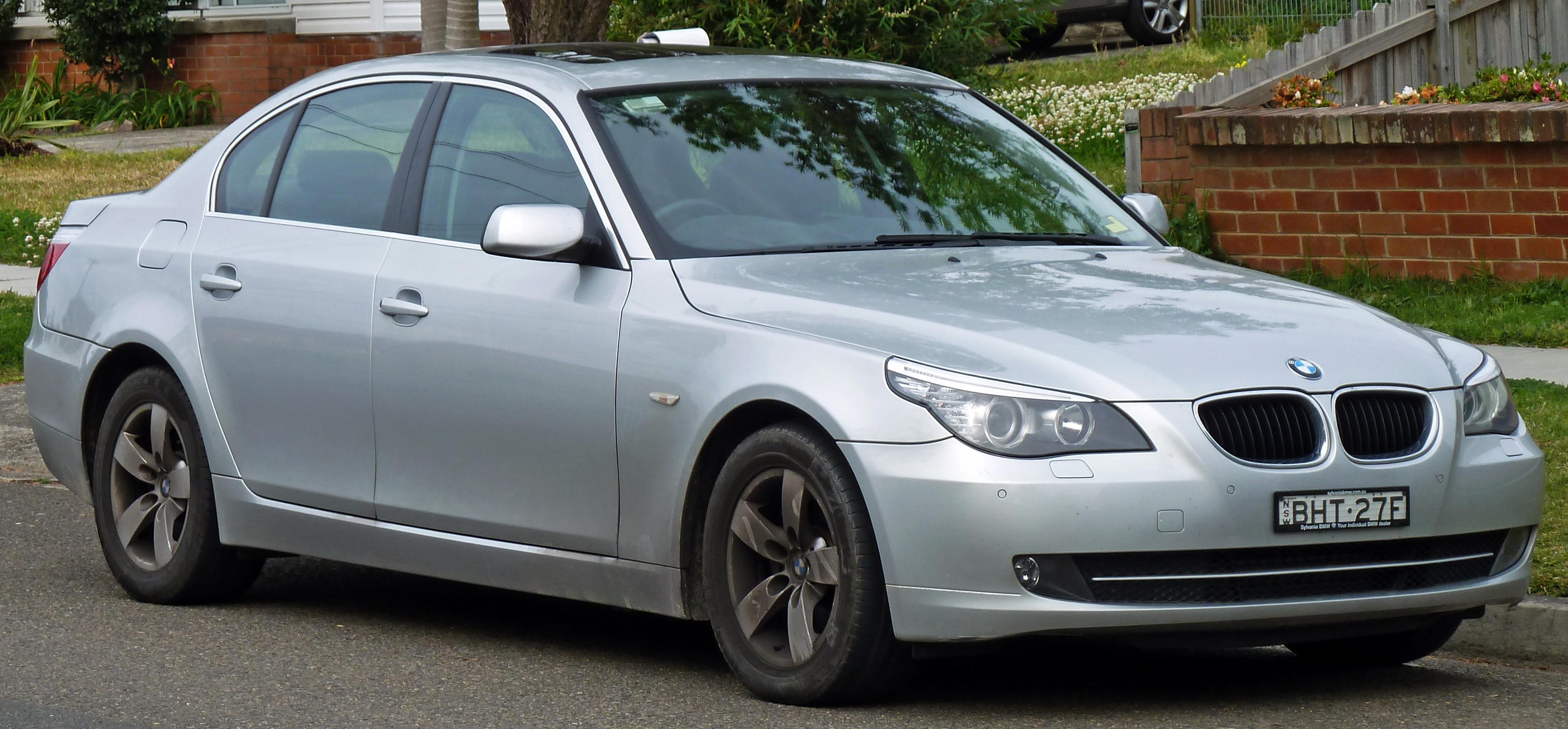 Beschreibung 2007 2010 BMW 520d E60 Sedan 01
