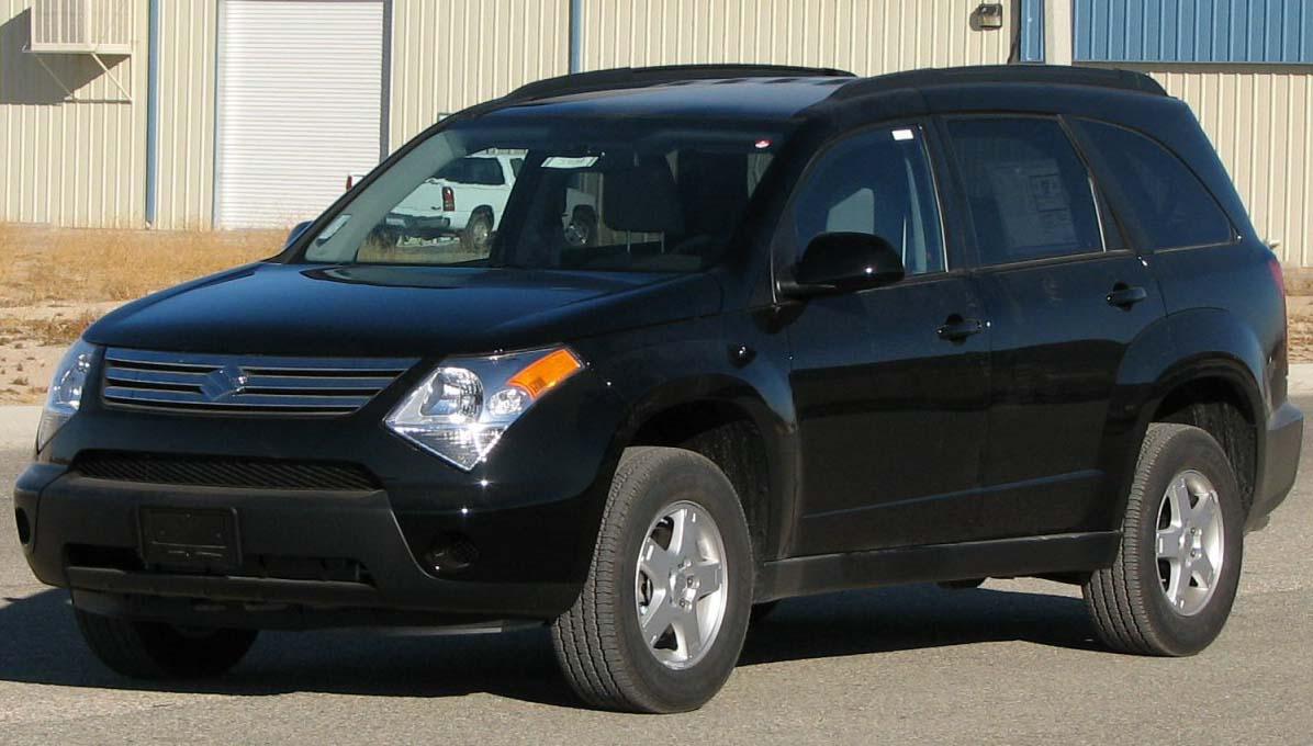 Safe Car Gov >> File:2007 Suzuki XL7 -- NHTSA.jpg - Wikimedia Commons