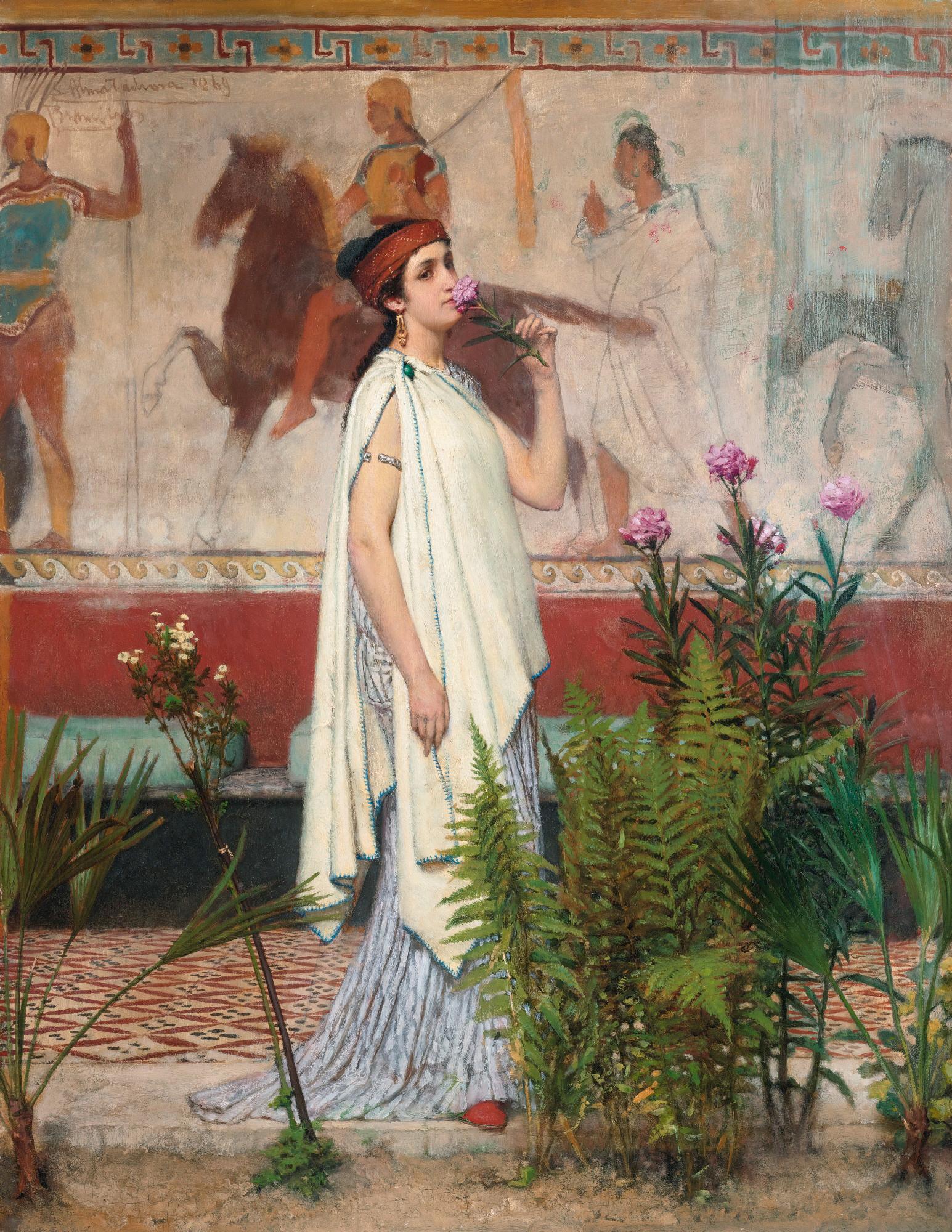 File A Greek Woman By Lawrence Alma Tadema Jpg
