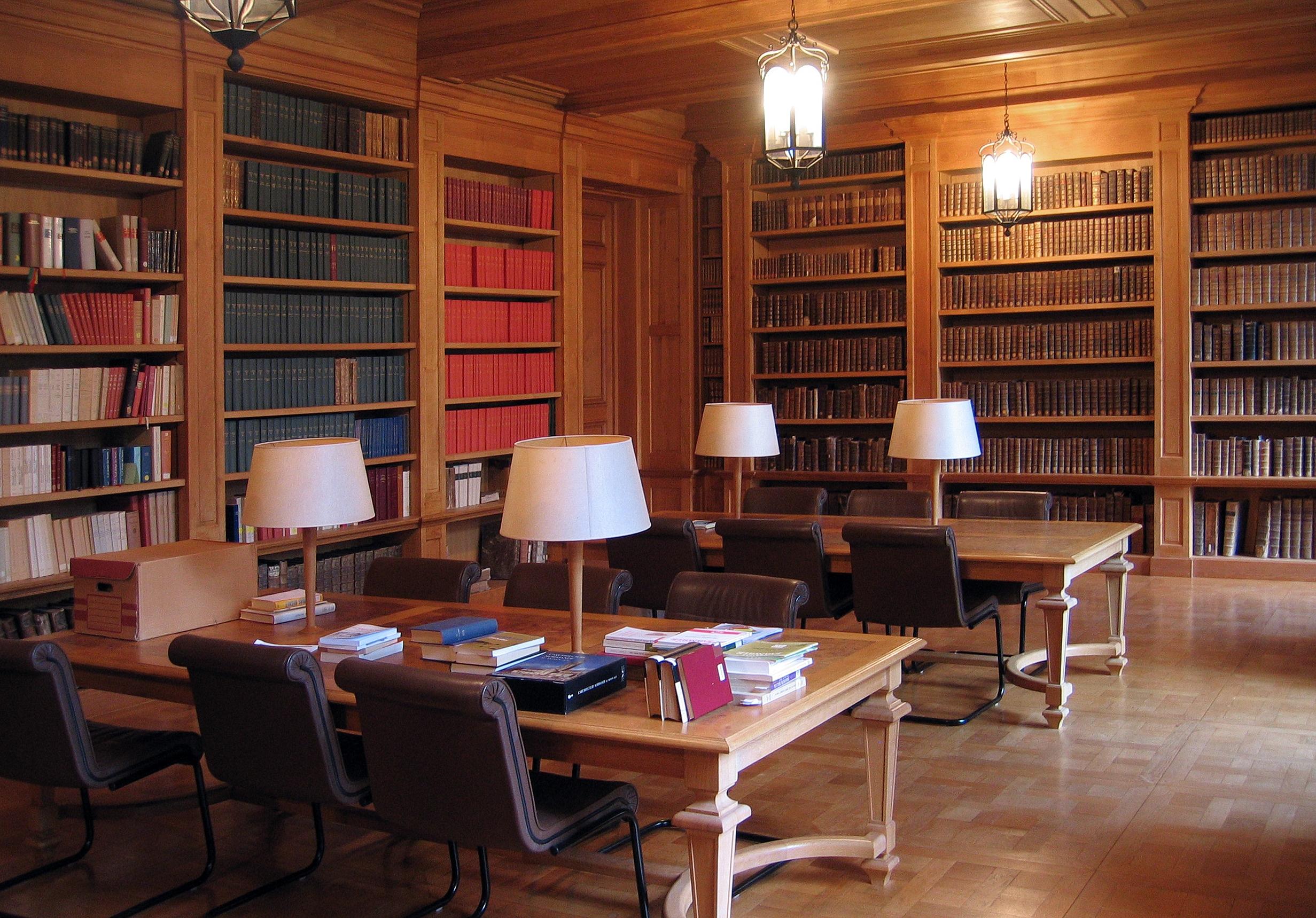 Etat des Lieux Abbaye_du_Bec-Hellouin_-_Bibliothèque