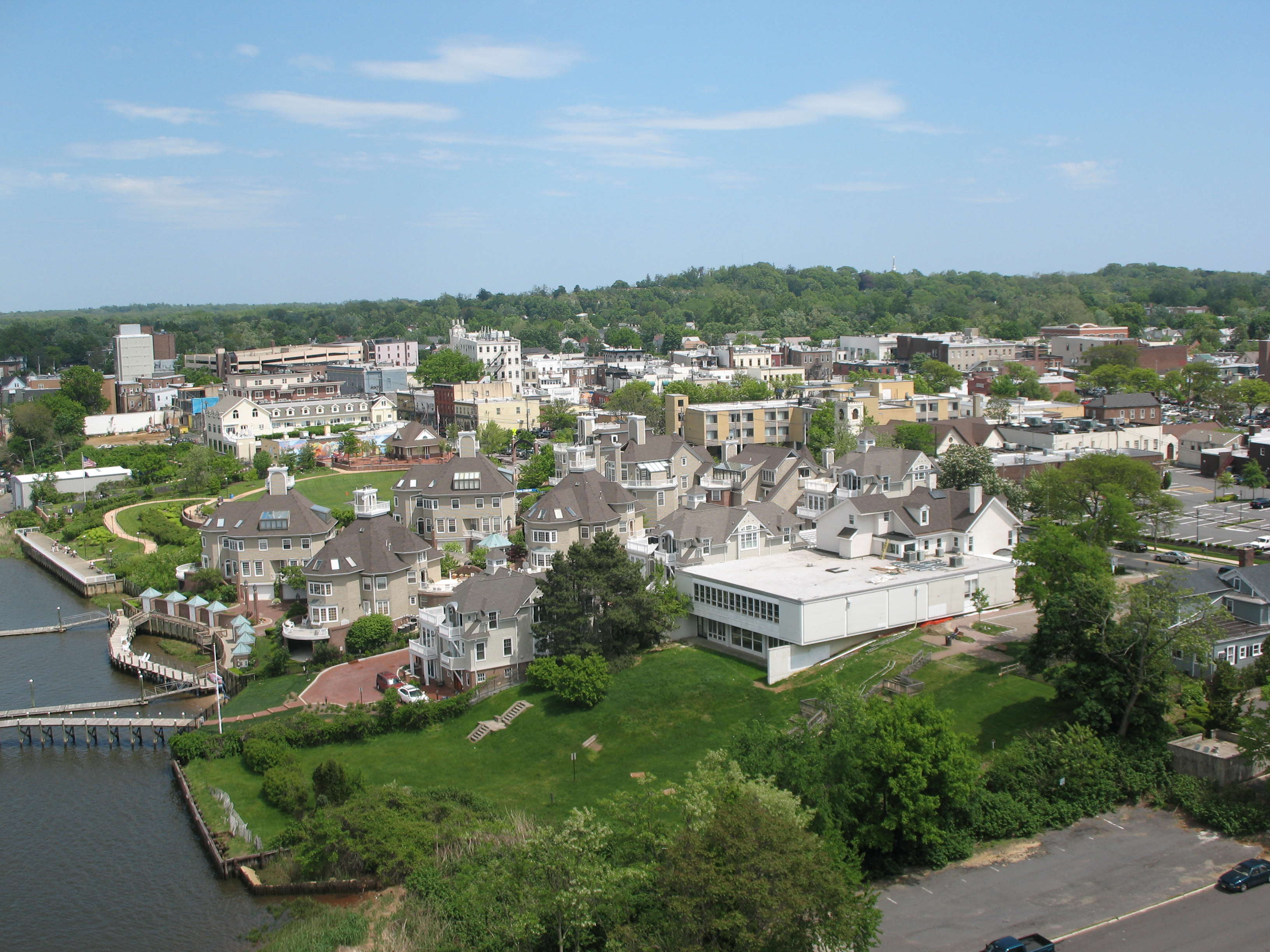 File Aerial View Of Red Bank Jpg Wikimedia Commons