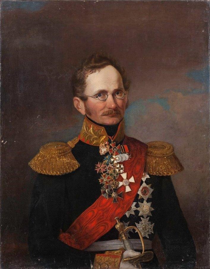 портрет работы неизвестного художника, 1840-е гг.