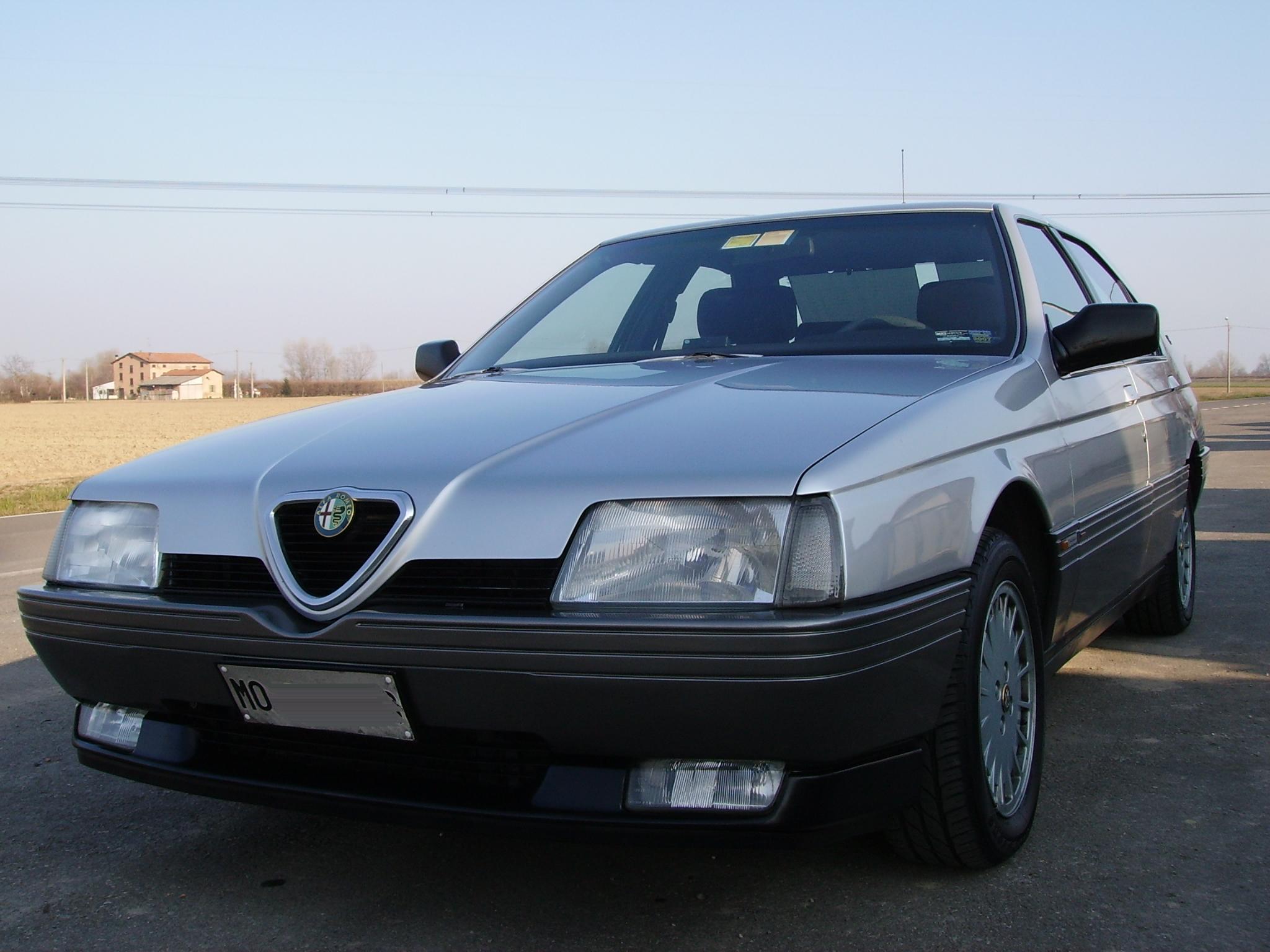 Alfa Romeo 164 >> Alfa Romeo 164 Wikipedia Den Frie Encyklopaedi