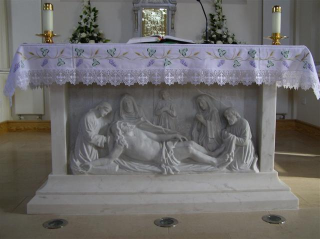 File Altar Table St Mary S Church Killyclogher