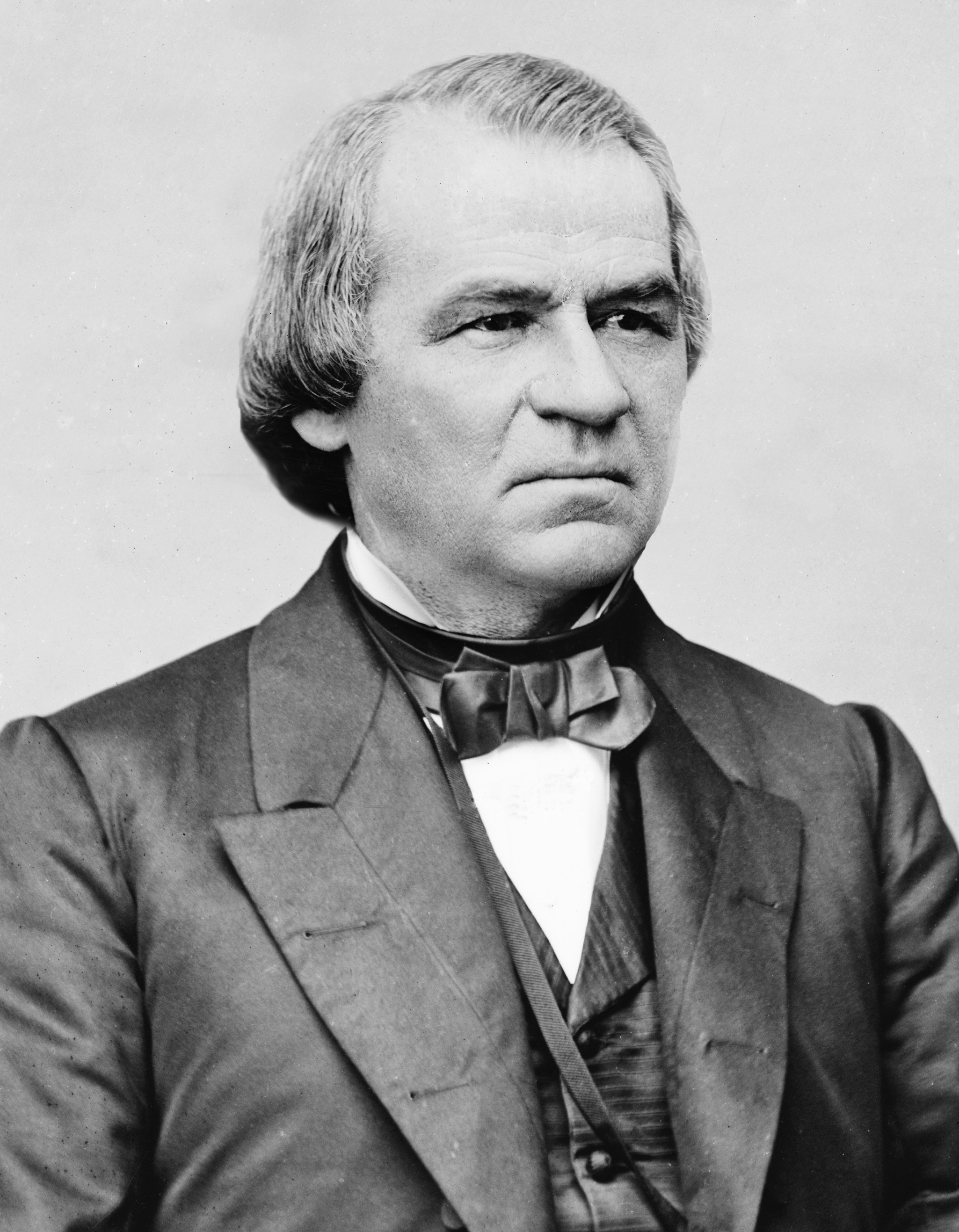 Depiction of Andrew Johnson