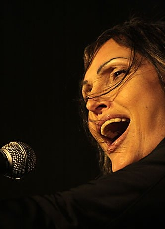 "Anna Oxa won the Sanremo Music Festival in 1989 with Fausto Leali, singing ""Ti lascero"". She also won ten years later with ""Senza pieta"". Anna Oxa 10.jpg"