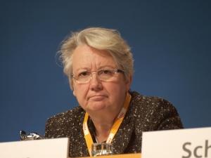 Anette_Schavan vor dem Rücktritt