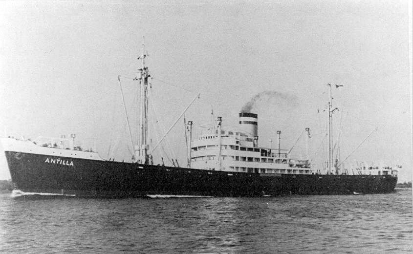 Essberger, le sort des navires marchands allemands en 1939 Antilla