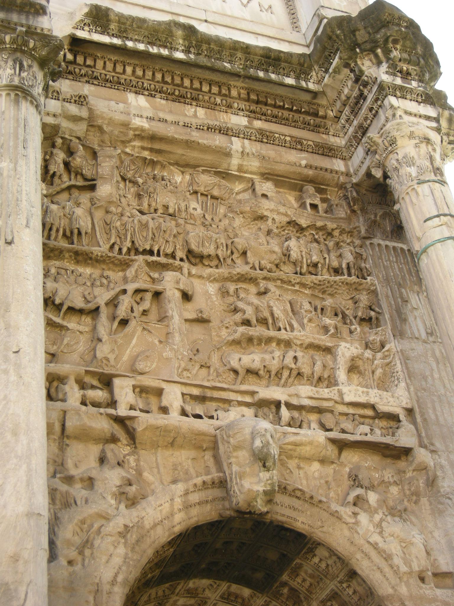 File Arco Di Settimio Severo Pannello 04 Jpg Wikimedia