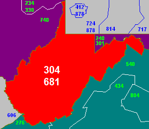FileArea Code Png Wikimedia Commons - Virginia area codes