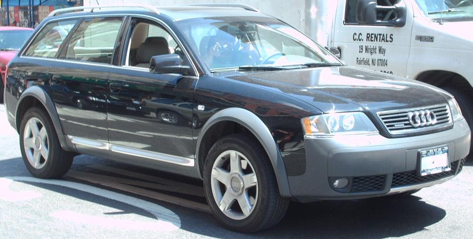 2005 Audi Allroad Quattro. File:Audi Allroad Quattro.