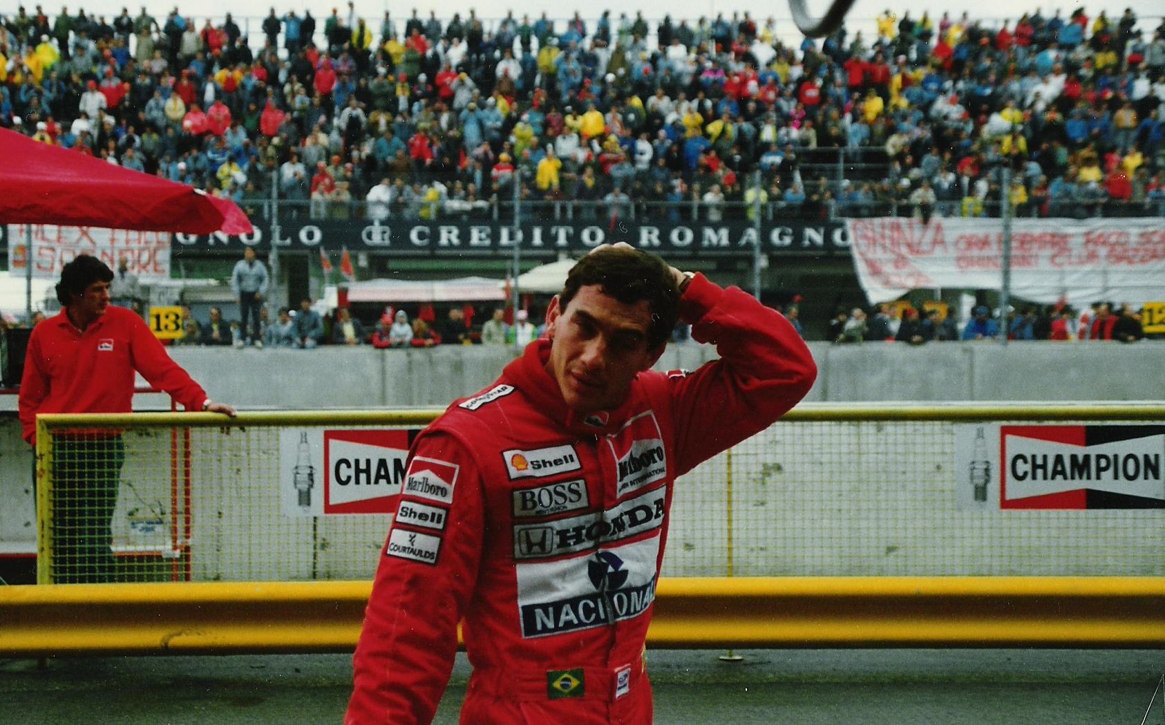 FasciculusAyrton Senna Imola 1989