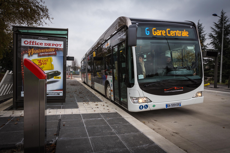 File bhns ligne g essais et formation strasbourg 14 - Ligne 118 bus ...