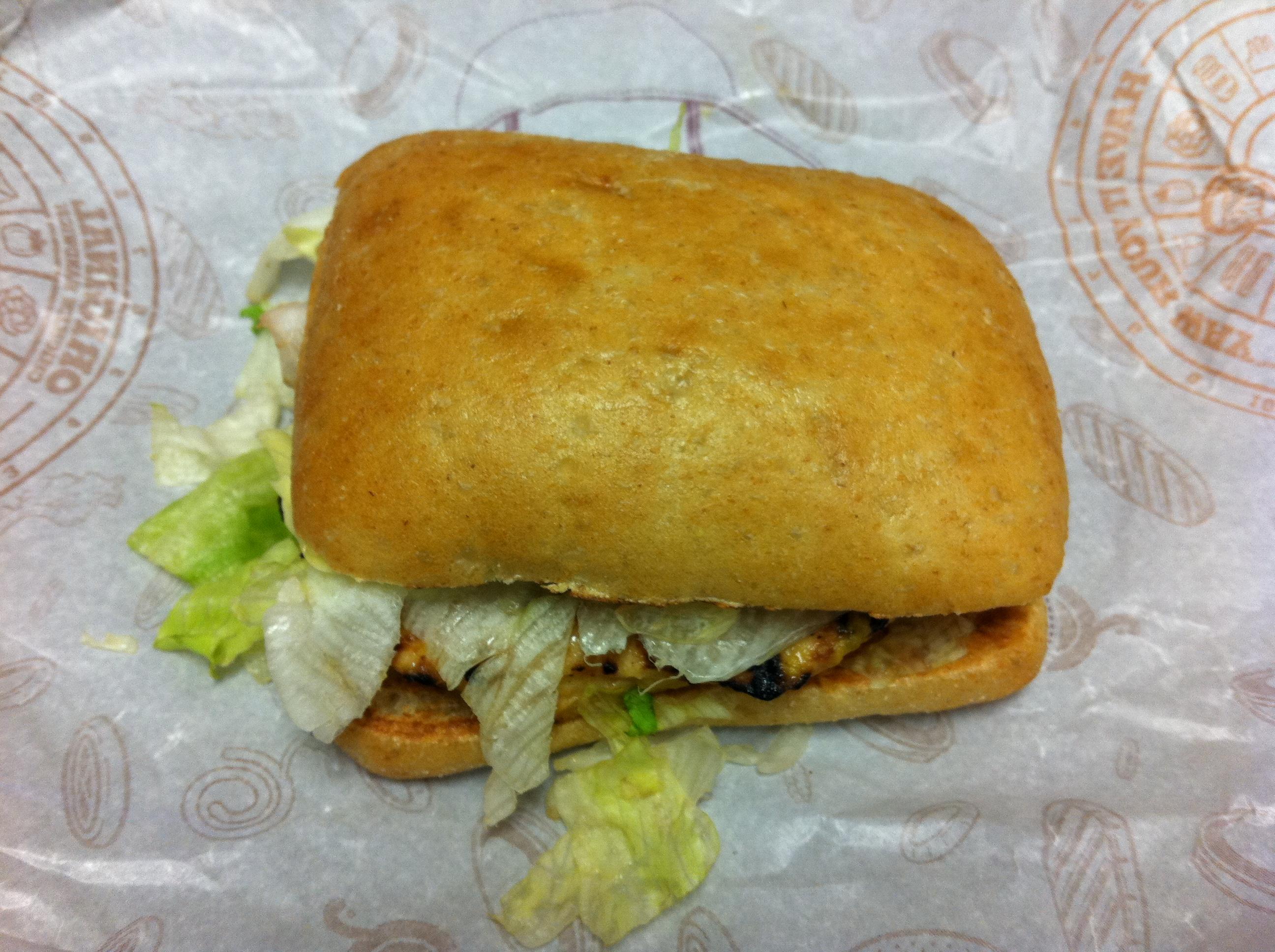 bk grilled chicken sandwich