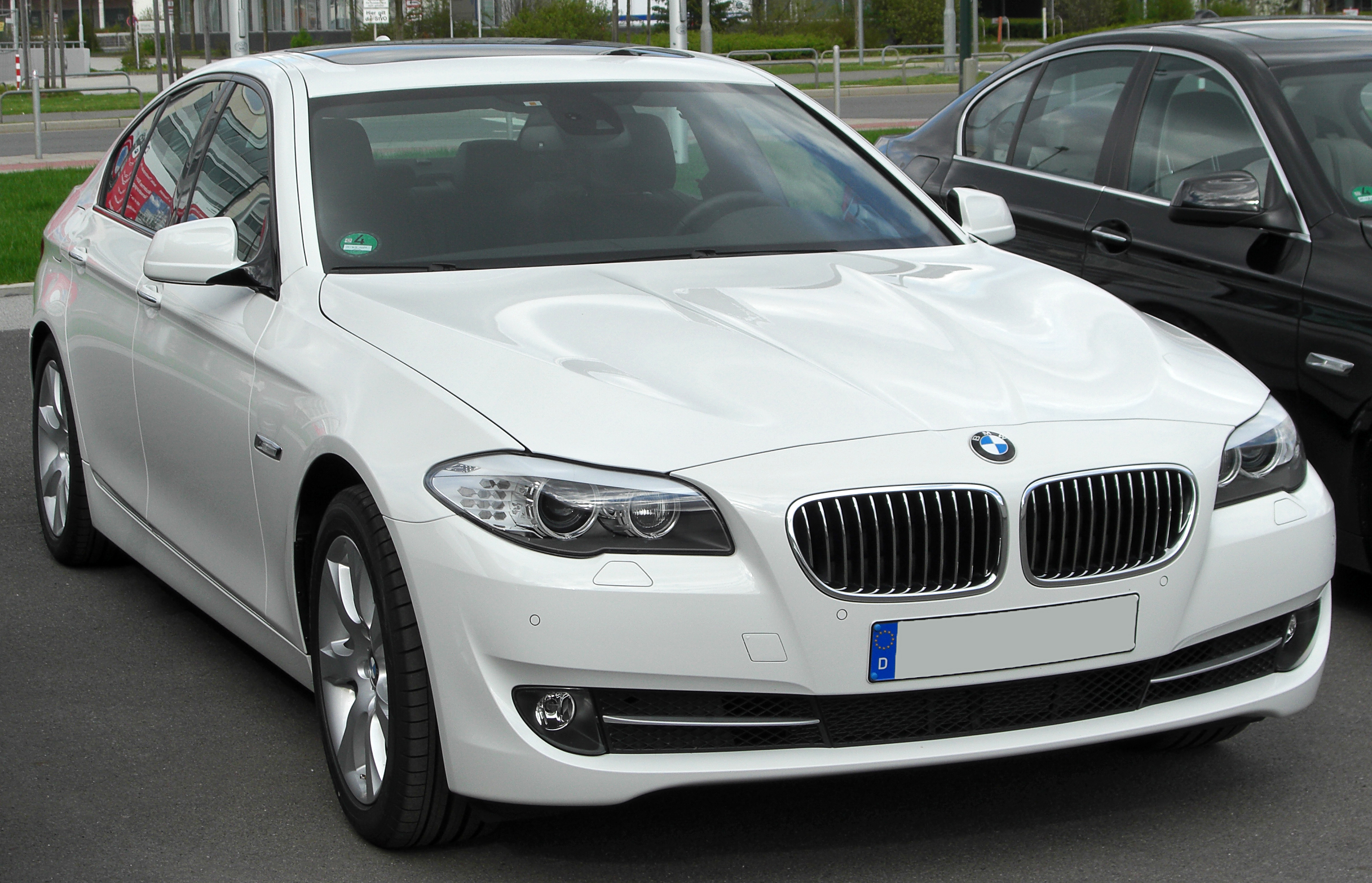 File Bmw 525d F10 Front 20100410 Jpg Wikimedia Commons