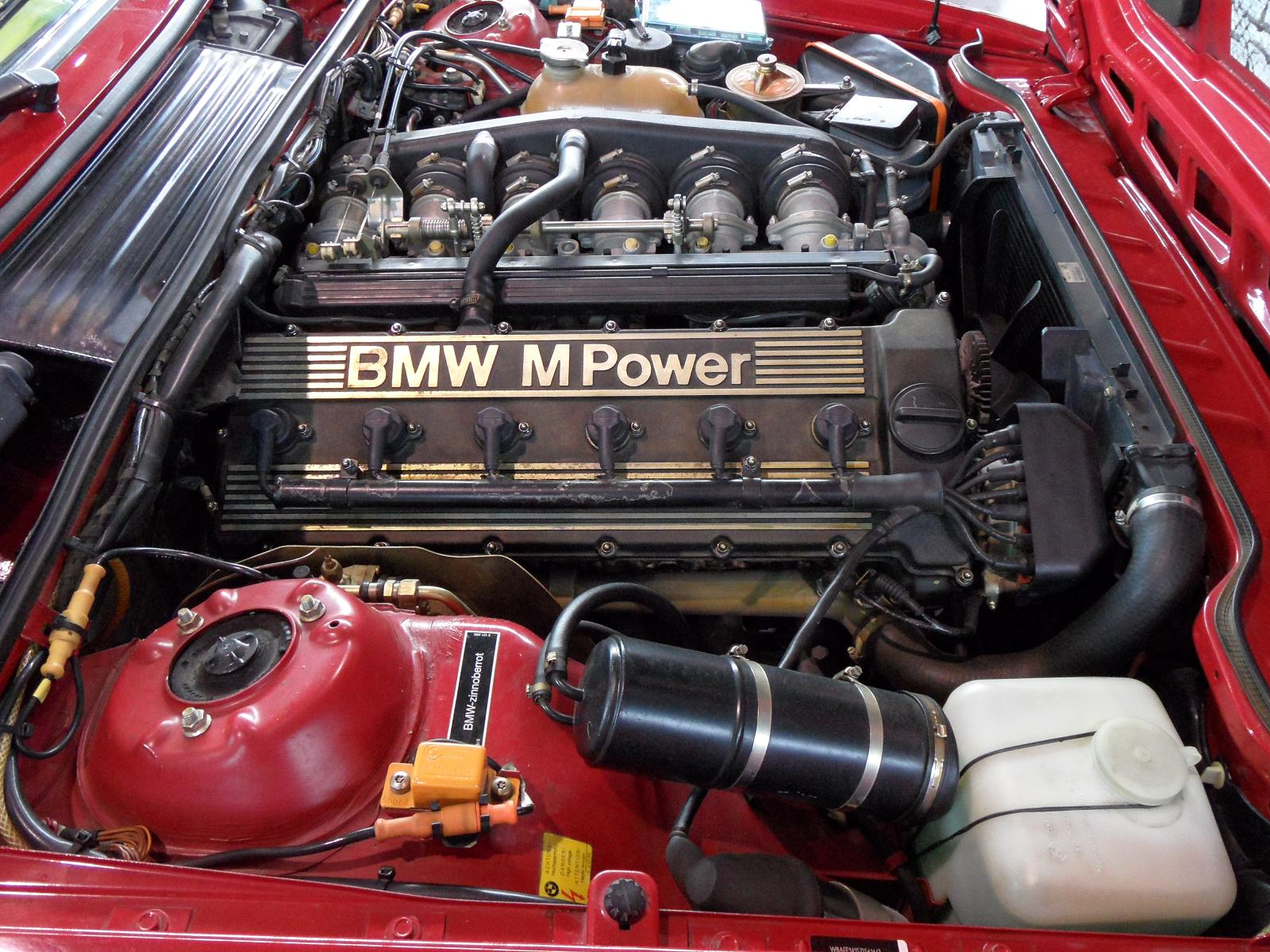 File bmw e24 m6 us engine bay exhaust jpg wikimedia commons