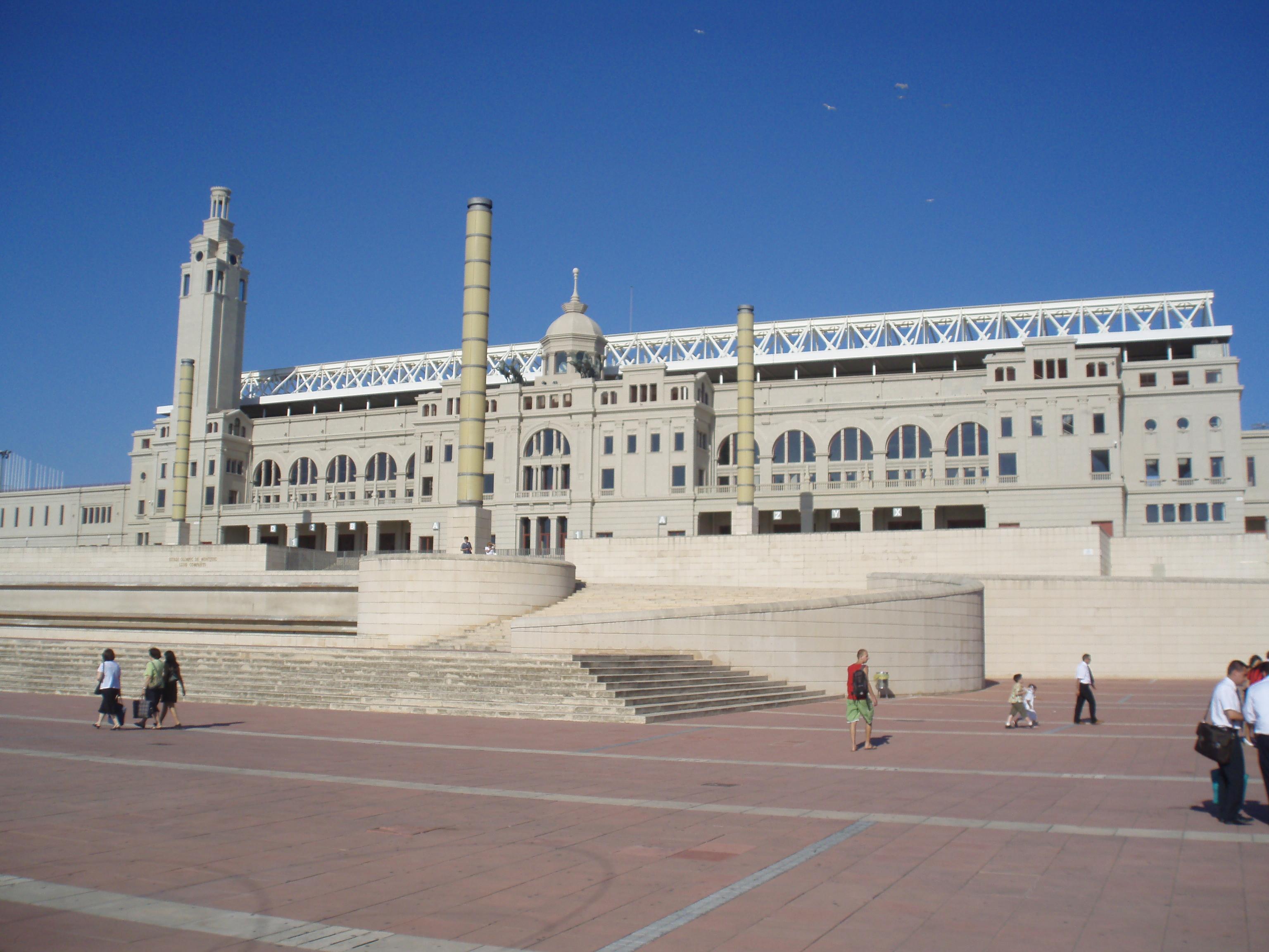 Barcelona olympic stadium