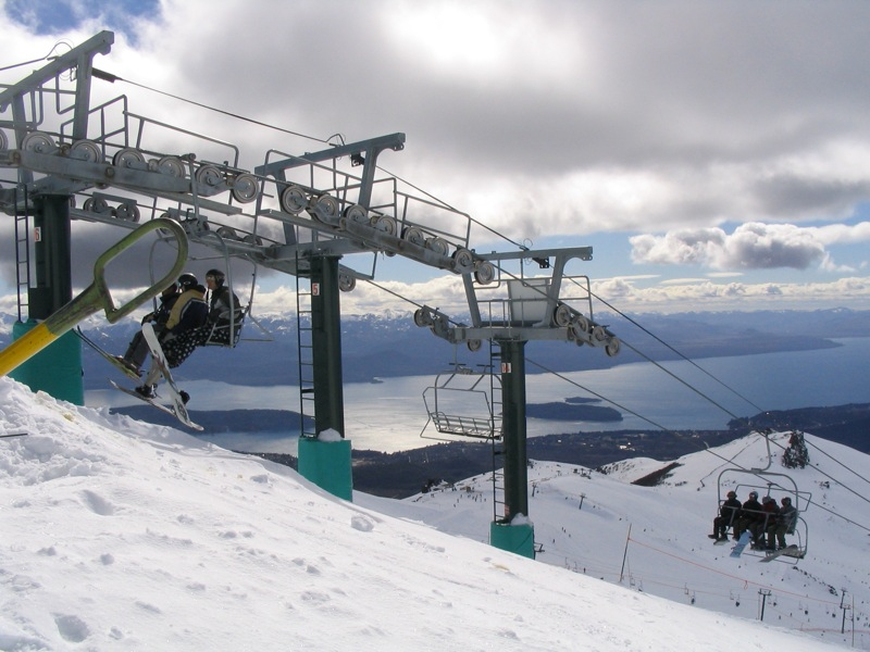 Teleférico em Bariloche