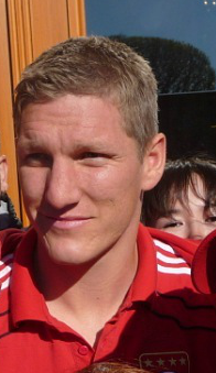 Bastian Schweinsteiger in Saint-Petersburg. 18 May 2011