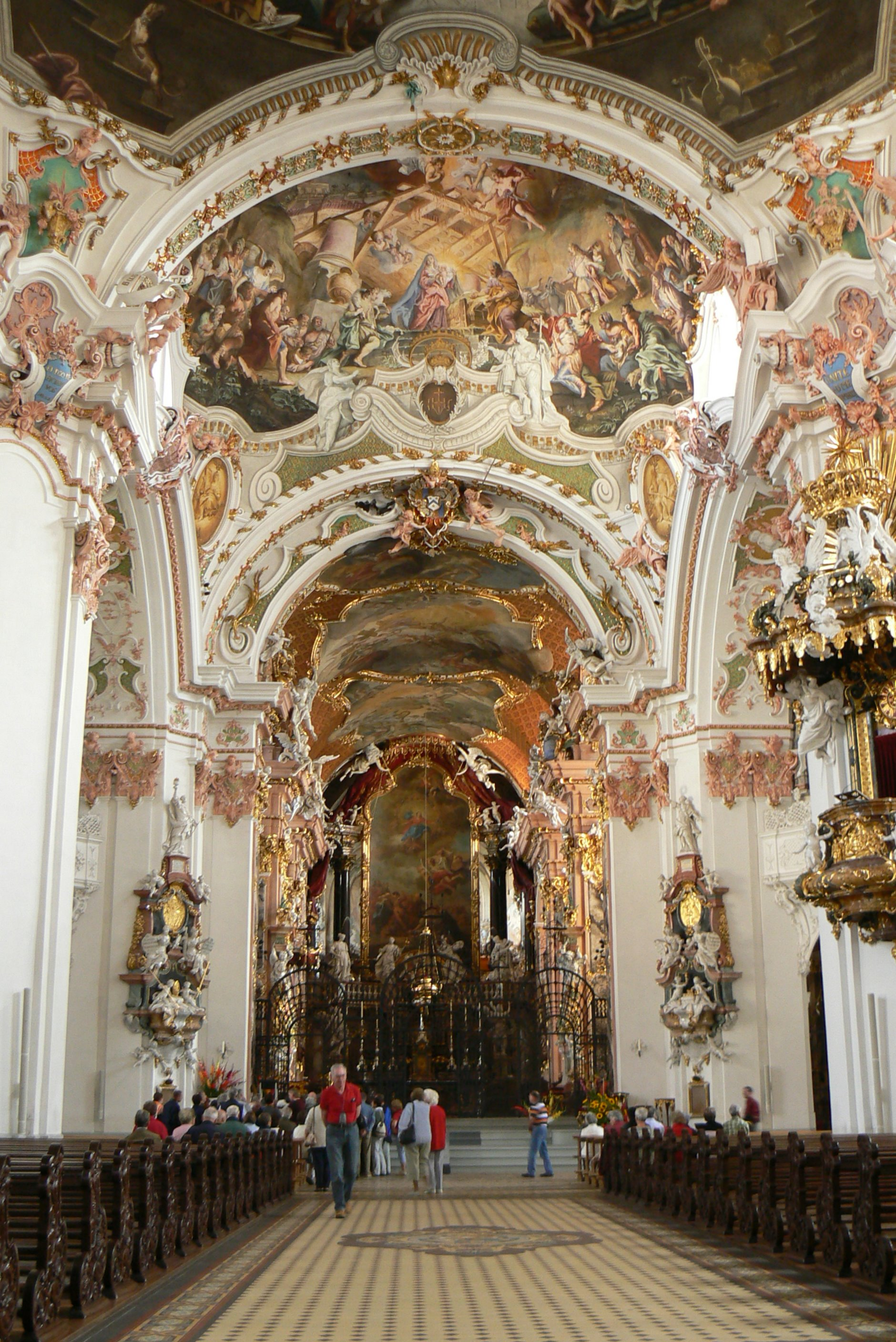 File Benedictine Abbey of Einsiedeln Wikimedia mons