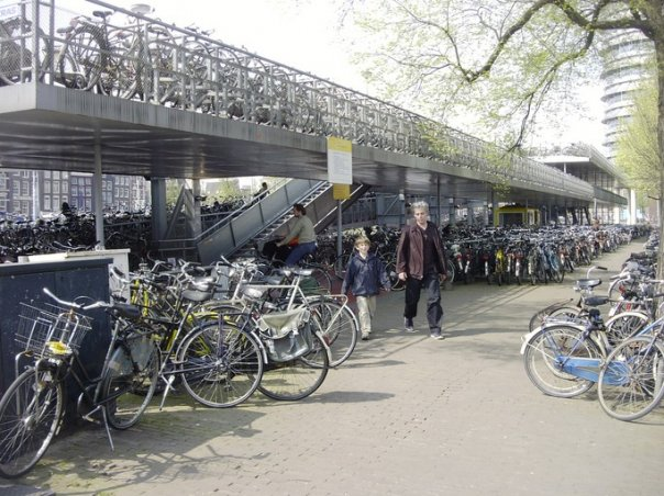 Bicycle Garage Filebike Garage Amsterdam 9 2003  Wikimedia Commons