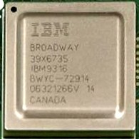 Photo showing the Nintendo Wii CPU