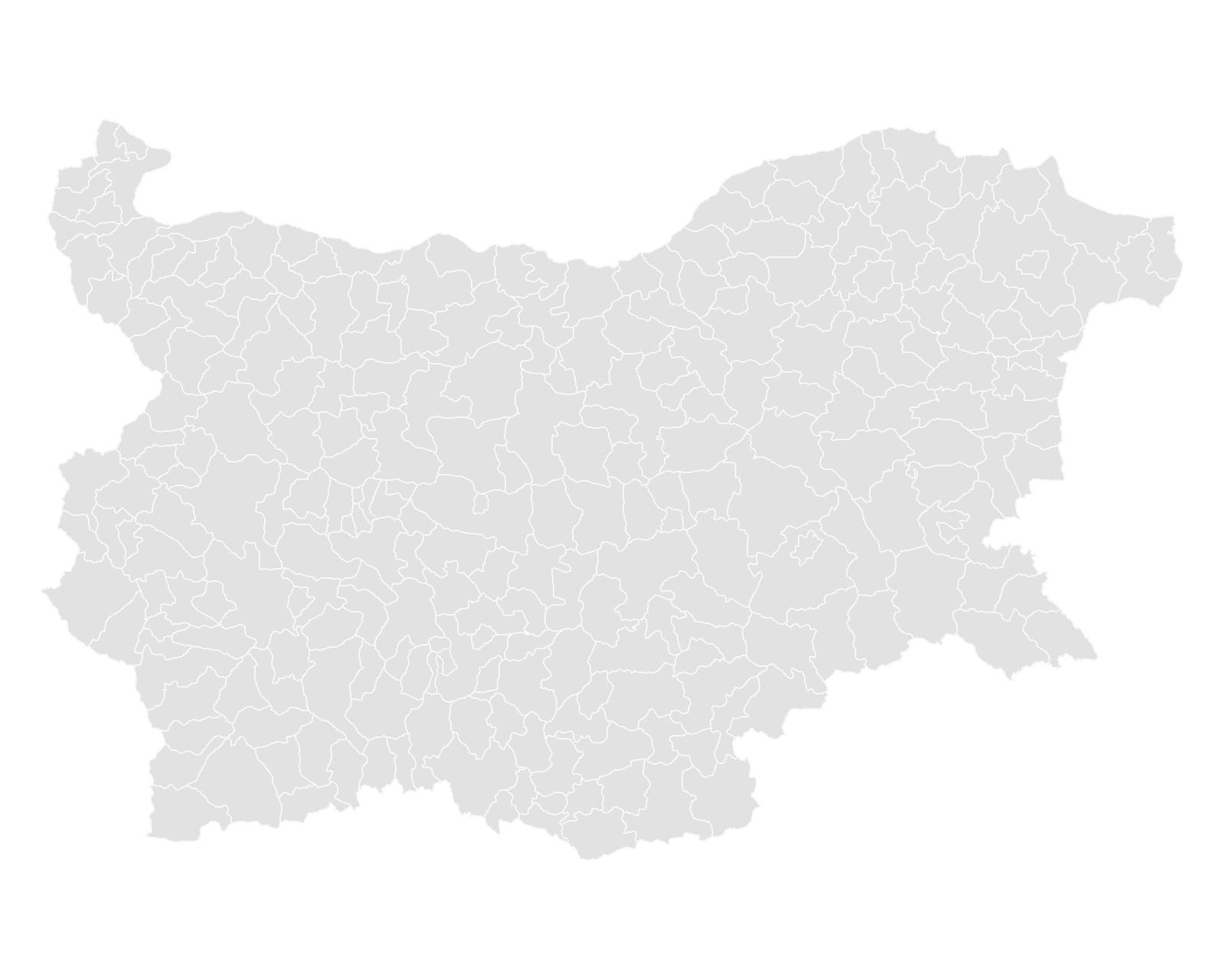 Gemeindegliederung Bulgariens