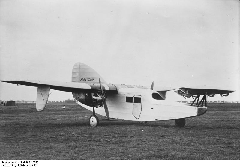 Resultado de imagem para Focke Wulf F-19
