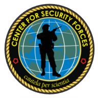 The Center for Security Forces Command logo. CENSECFOR Patch.png