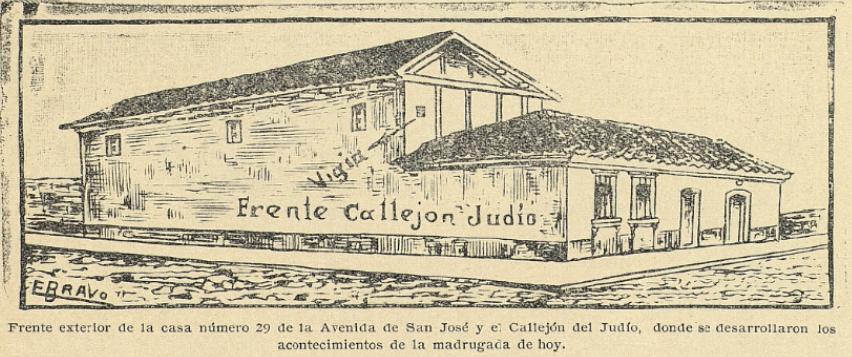 20 de mayo de 1907: acorralan a los autores del atentado de La Bomba contra Manuel Estrada Cabrera