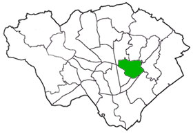 Penylan district of Cardiff, Wales