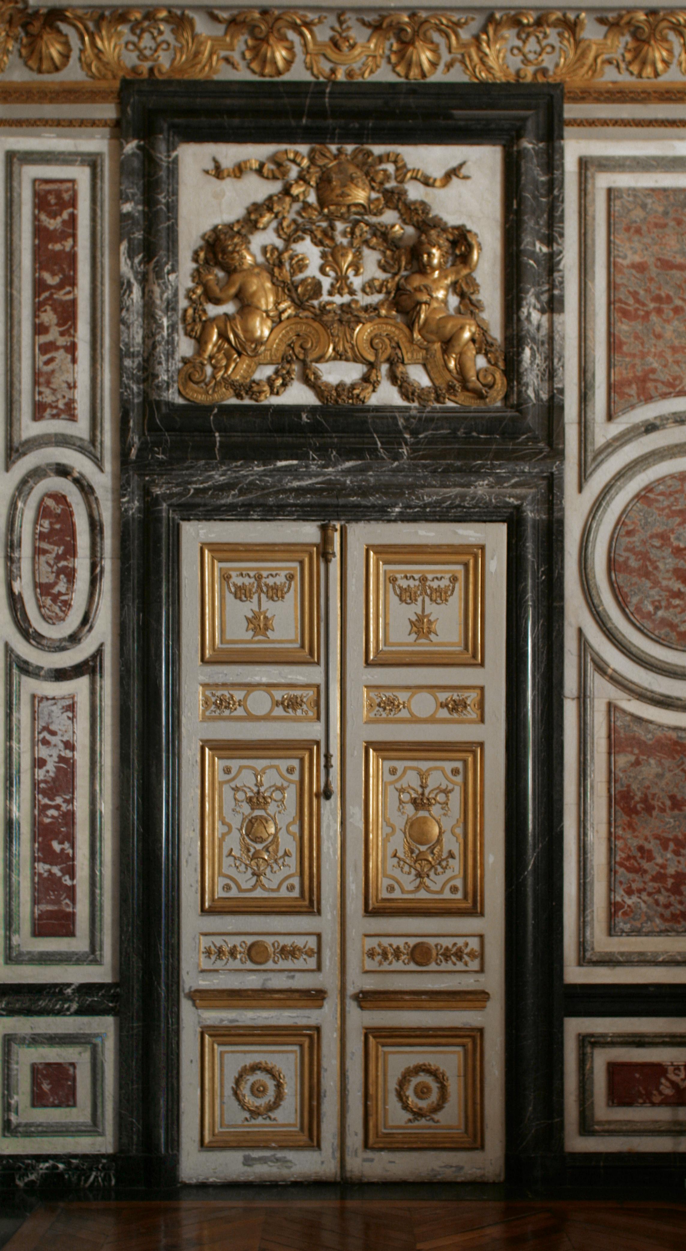 FileChâteau de Versailles salle des gardes de la reine porte.jpg & File:Château de Versailles salle des gardes de la reine porte.jpg ...