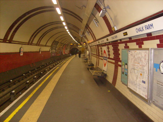 Chalk Farm Platform, Northern Line 2008