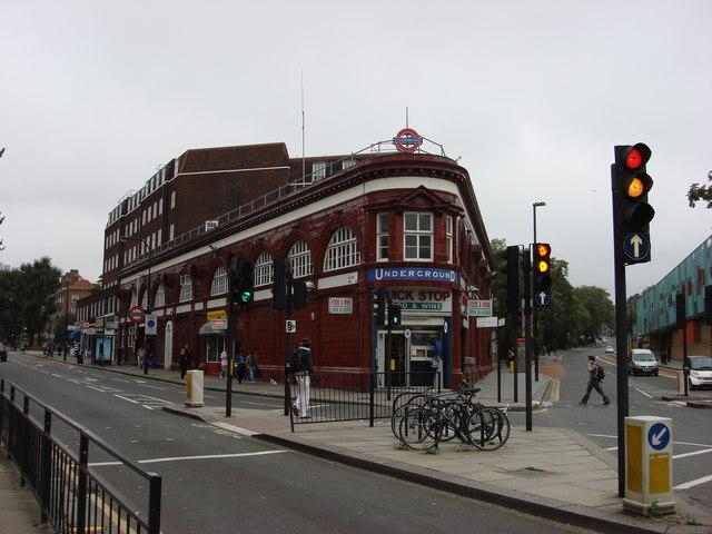 Chalk Farm tube station