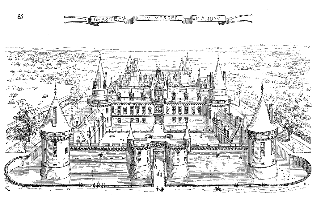 File wikimedia commons - Dessin d un chateau ...