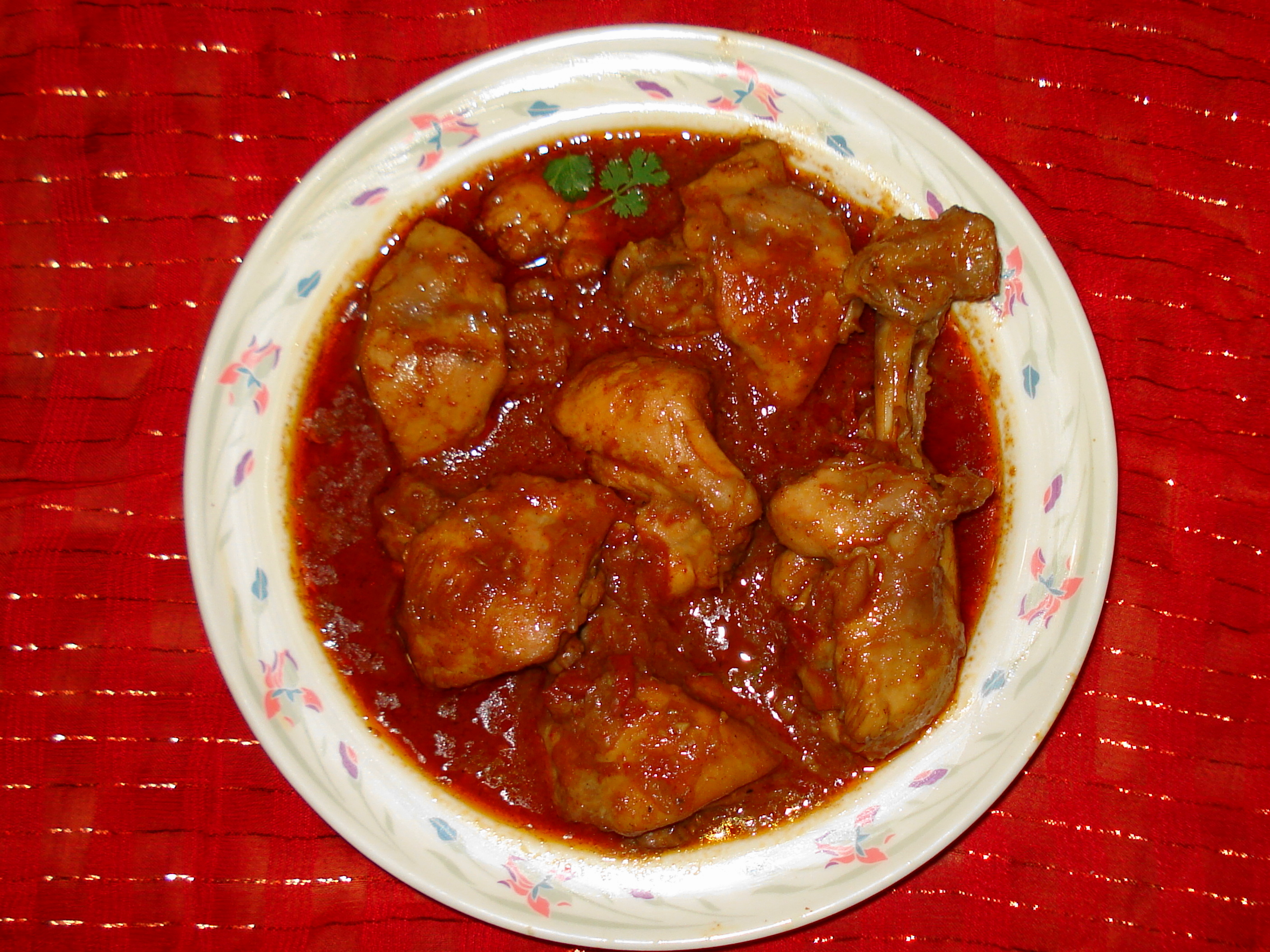 Chicken Pulusu Curry Curry Chicken From Pakistan