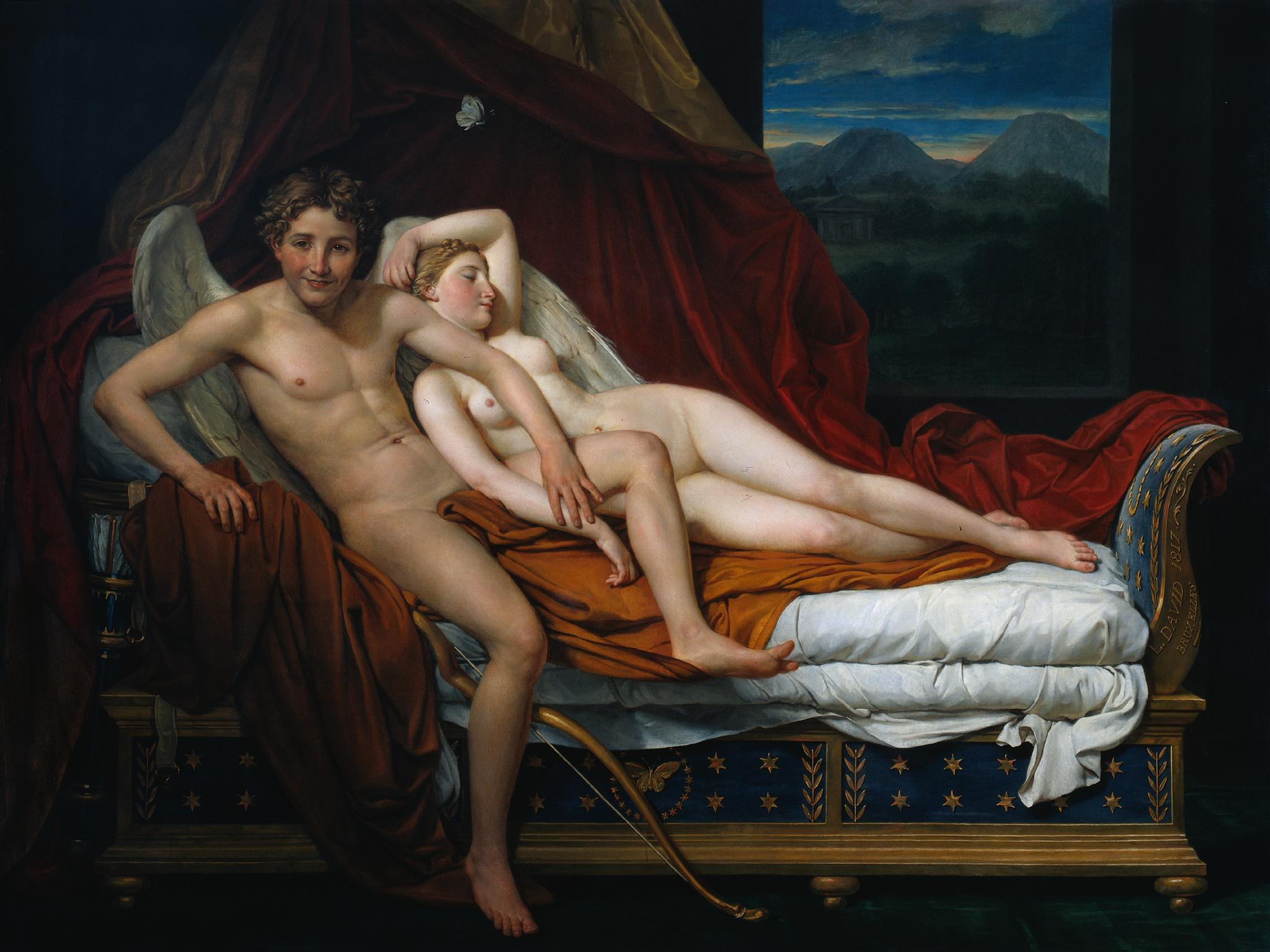 Cupidon et Psyché