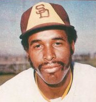 Dave Winfield with the San Diego Padres c.1977
