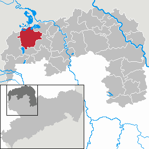 Delitzsch Town in the Free State of Saxony