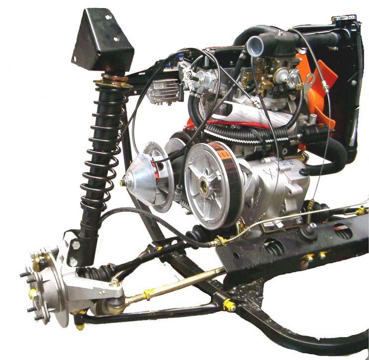 Link Suspension Design Race Cars