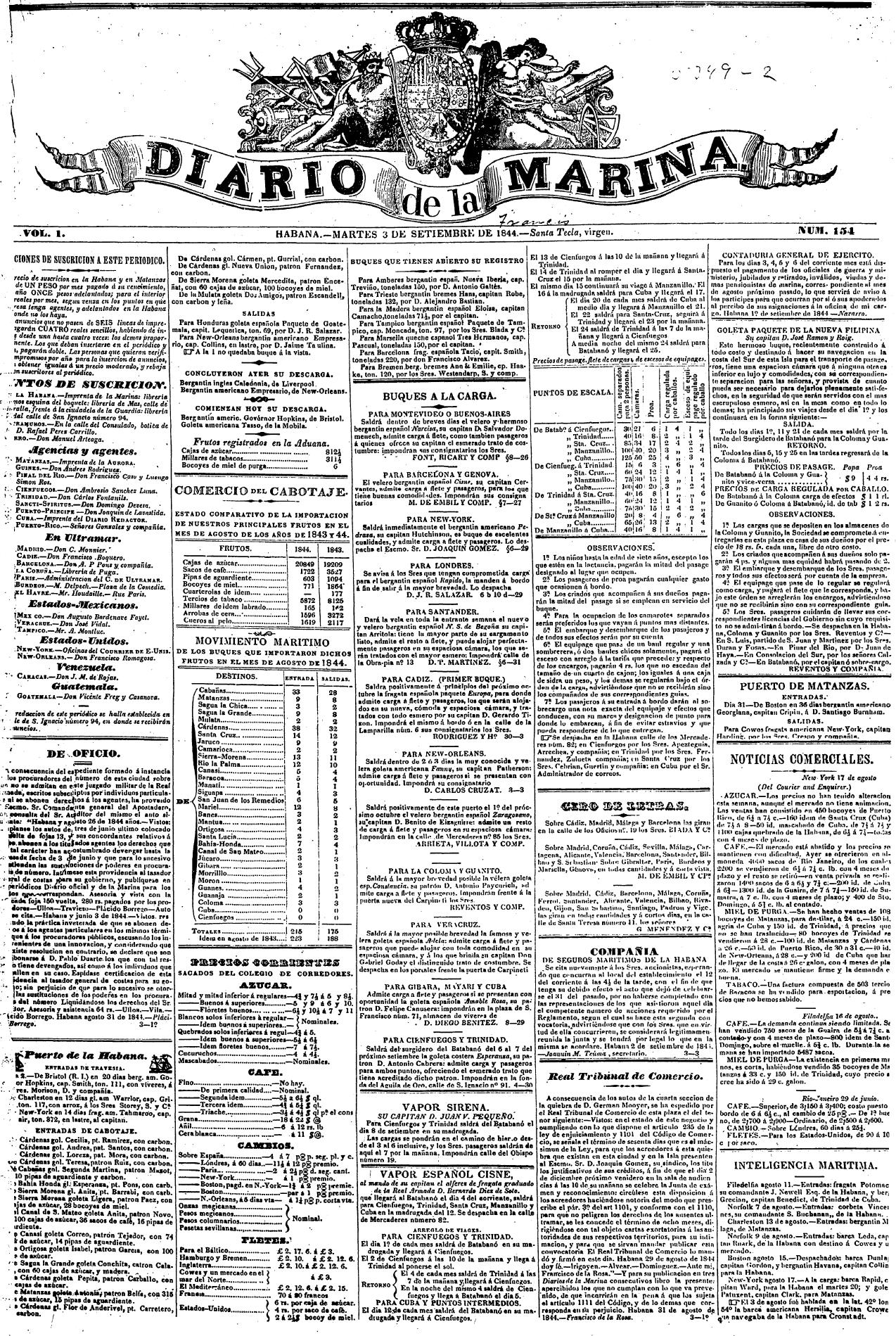 Diario de la Marina Wikipedia, la enciclopedia libre