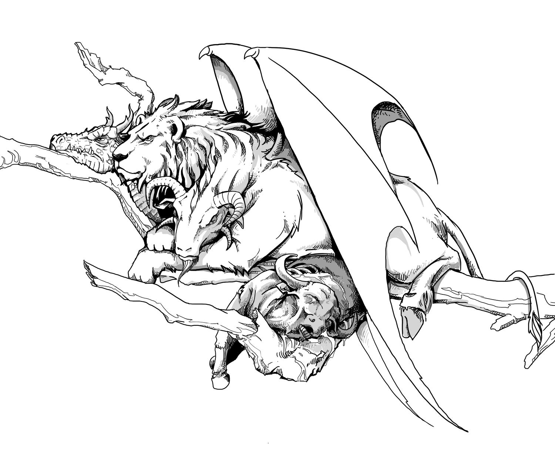 Chimera (Dungeons & Dragons) - Wikipedia