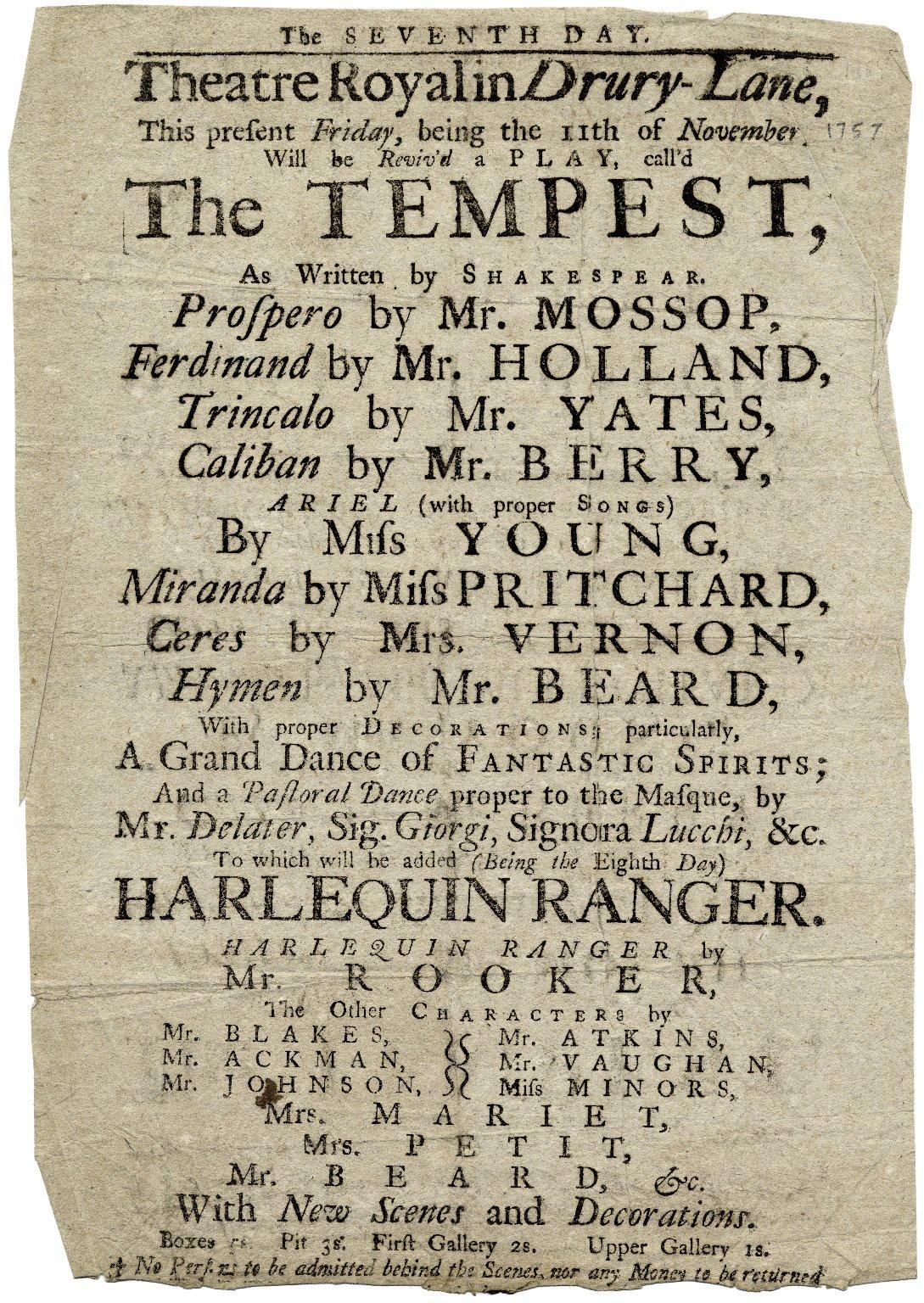 The tempest essay topics