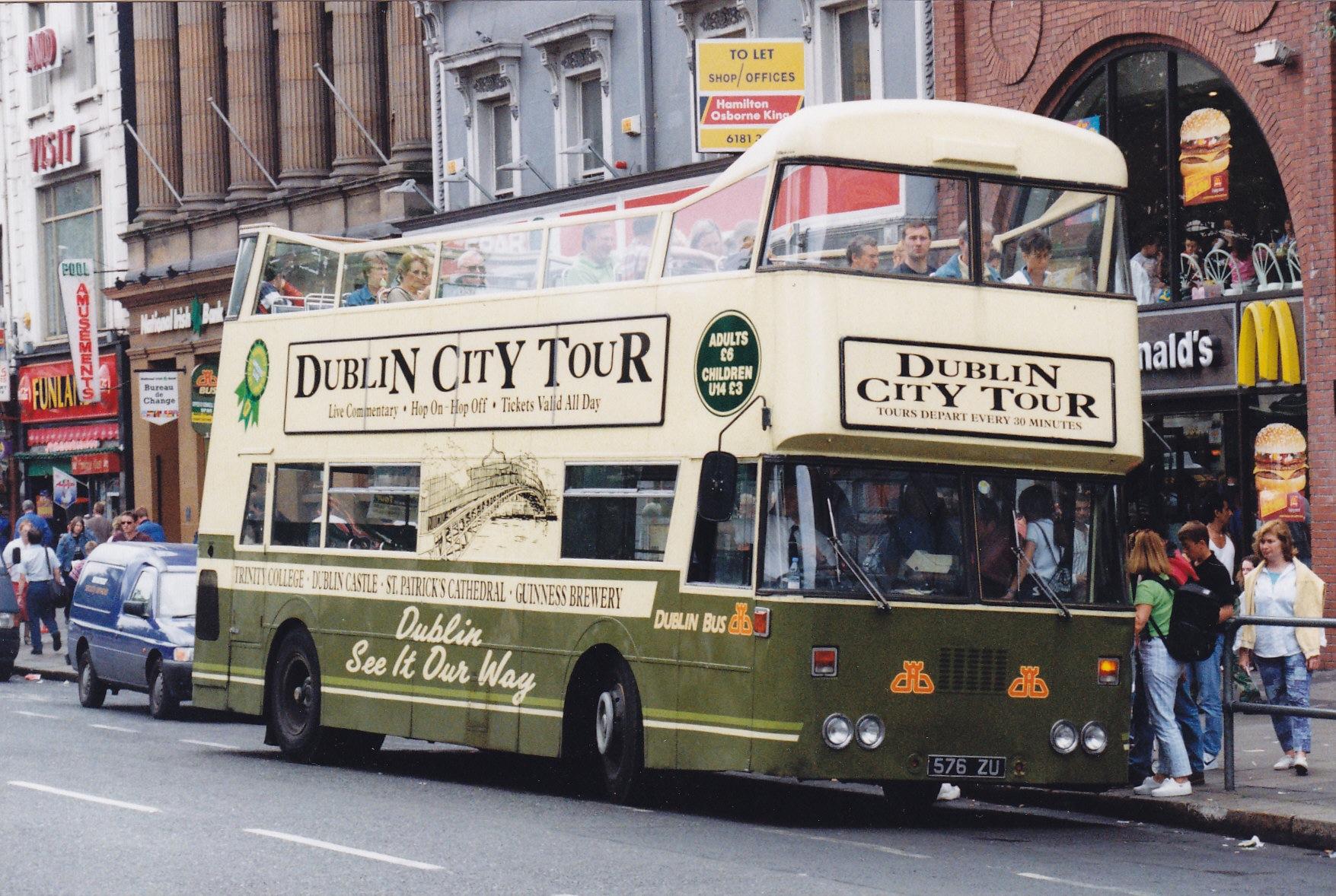 Bus Tours Dublin